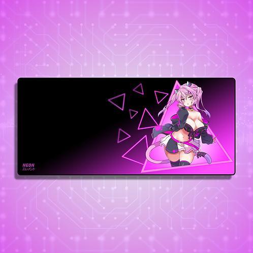 Neon-chan Ara Ara Mode Mousepad/Deskpad