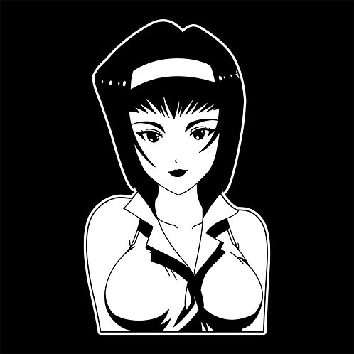 XL Faye Vinyl Decal