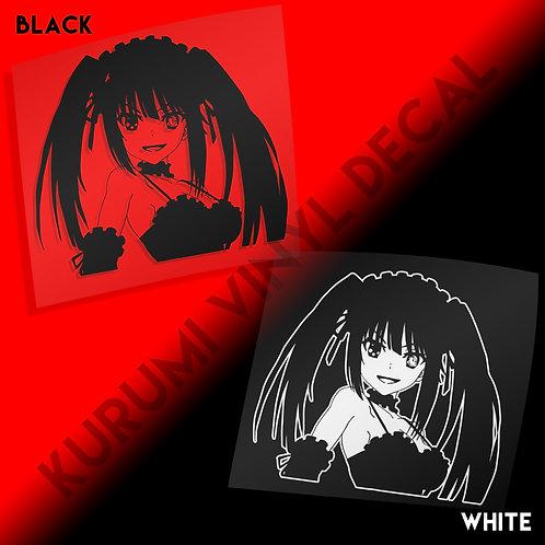 Kurumi Vinyl Decal