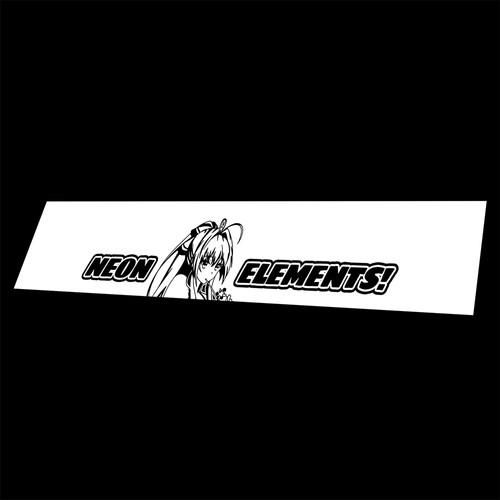 Vinyl Banner Sento Neon Elements