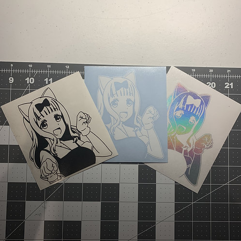 Chika Vinyl Decal