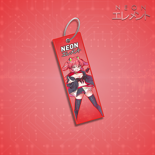 Neon-chan Angry Mode Jet Tag