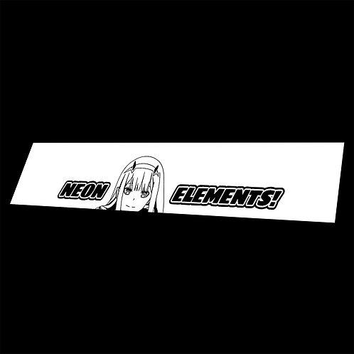 Vinyl Banner Zero Two