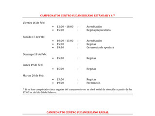 Campeonato Sudamericano de Láser 2018