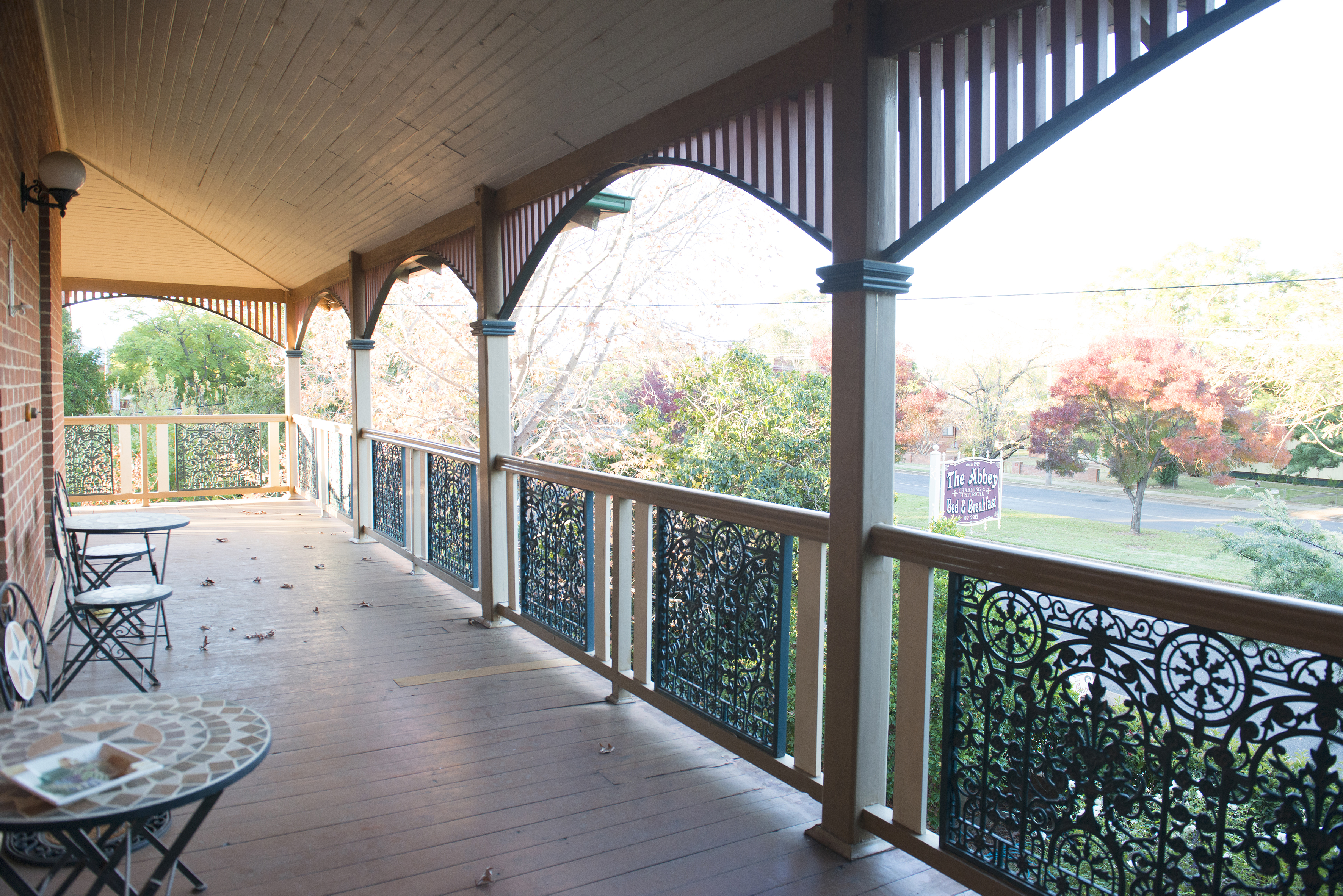 Upstairs Verandah