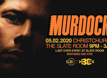 Gig Review: Murdock @ The Slate Room, Christchurch - 5/2/2020