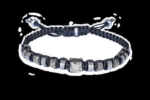 Bracelet macramé en pierres naturelles - Modèle MARTIN