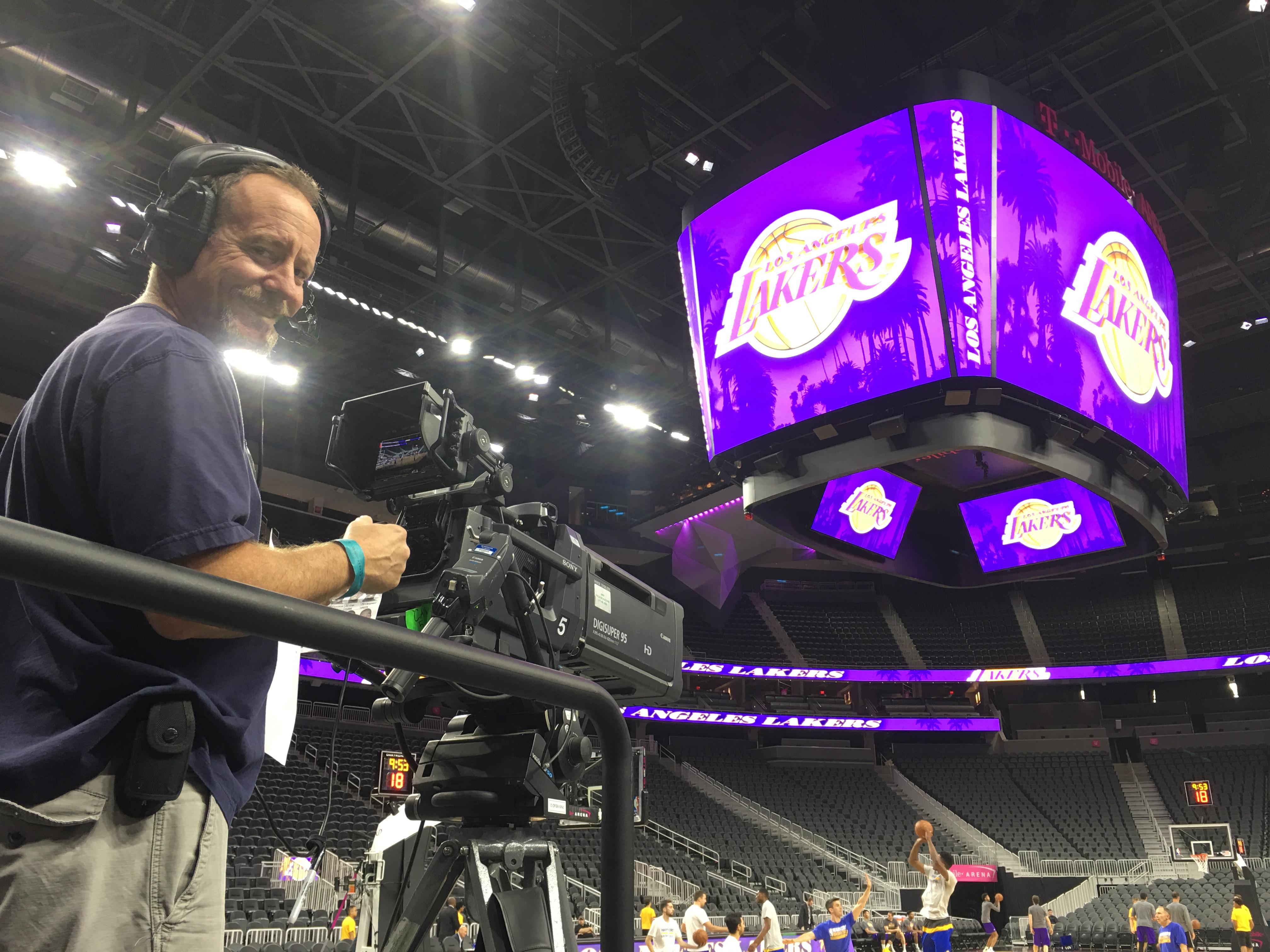 Camera OP Dave McAteer