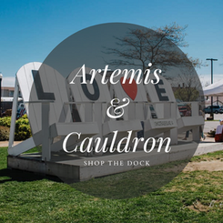Artemis & Cauldron