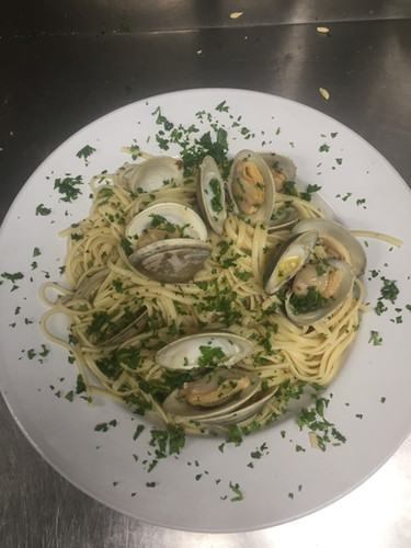 Clams Linguine