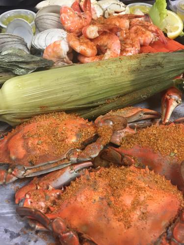 Steamed Seafood Platter
