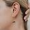 Thumbnail: Amethyst Gemstone Drop Earrings