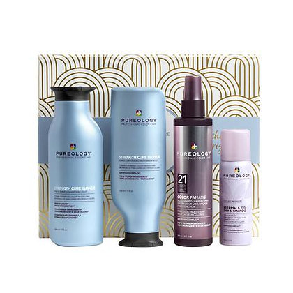 Strength Cure Blonde Holiday Kit