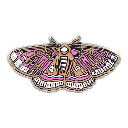 Moth Pin – Occult Luna Moth / Butterfly Enamel Pin