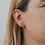 Thumbnail: Clear Quartz Mineral Point Earrings