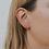 Thumbnail: Rose Quartz Mineral Point Earrings