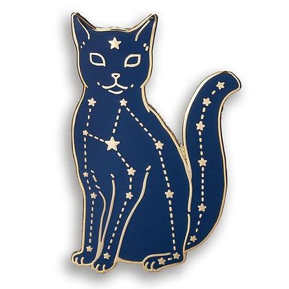 Celestial Cat Enamel Pin