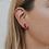 Thumbnail: Amethyst Mineral Point Earrings