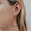 Thumbnail: Citrine Hoop Earrings