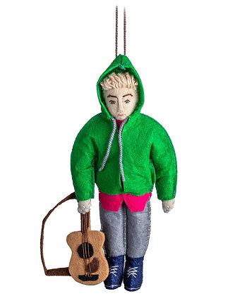 Justin Bieber Ornament