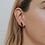 Thumbnail: Smoky Quartz Mineral Point Earrings