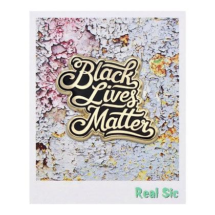 Black Lives Matter BLM Pride Pin
