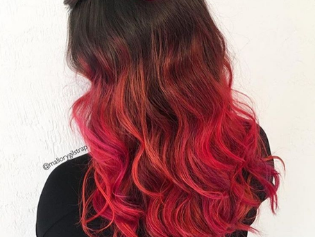 Pinks and Reds! Valentine's Day Inspired Haircolor