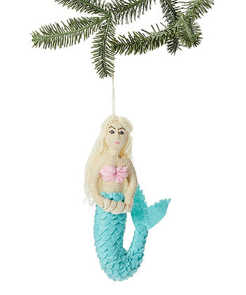 Mermaid - Blonde Ornament