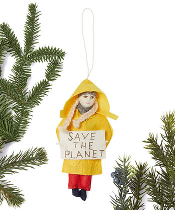 Greta Thunberg Ornament