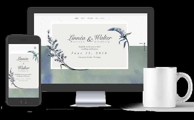 Bröllopshemsida