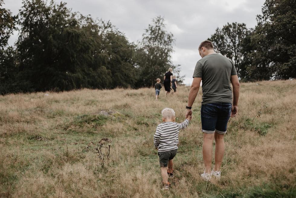 Malin Olsson med familj. aug2019_ISAMATH