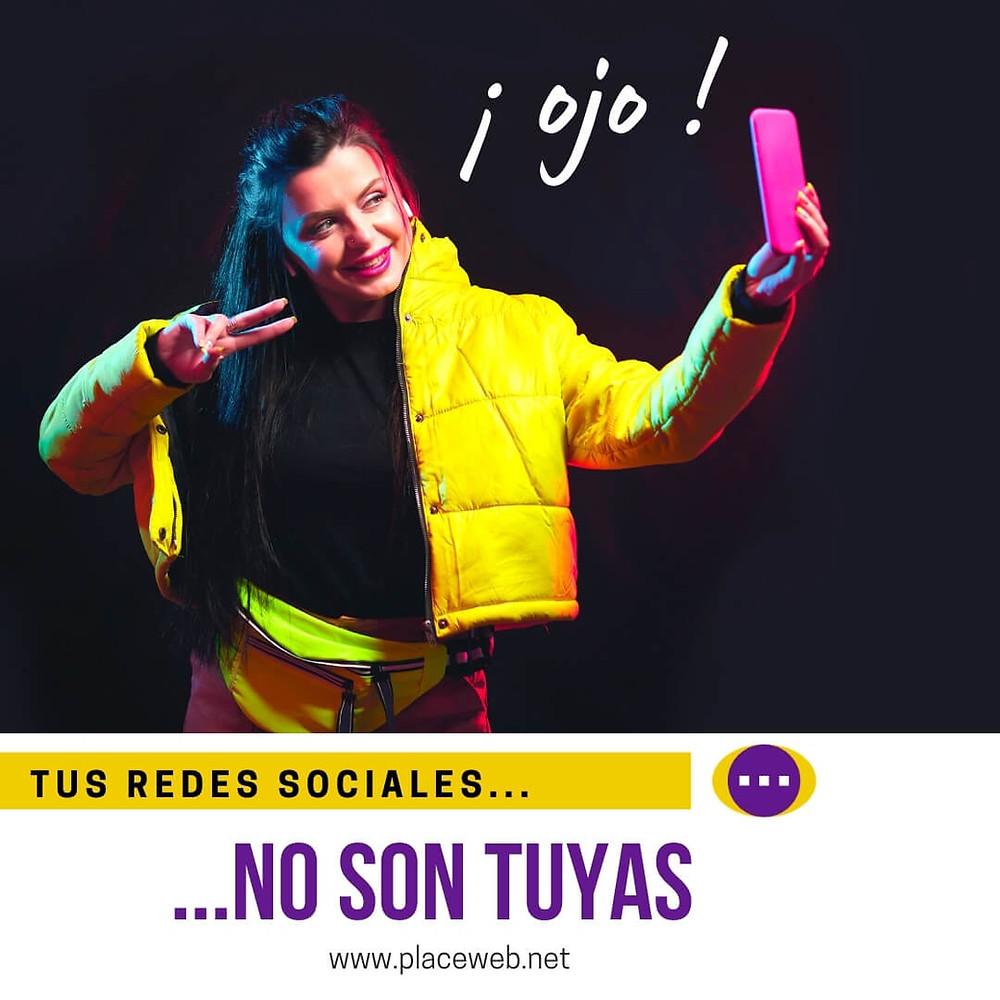 Las Redes Sociales no son Tuyas