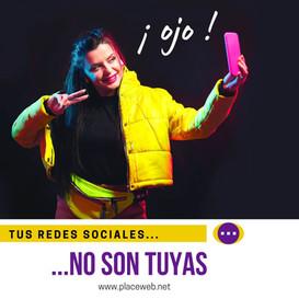 Las Redes Sociales no son Tuyas 👽👽👽