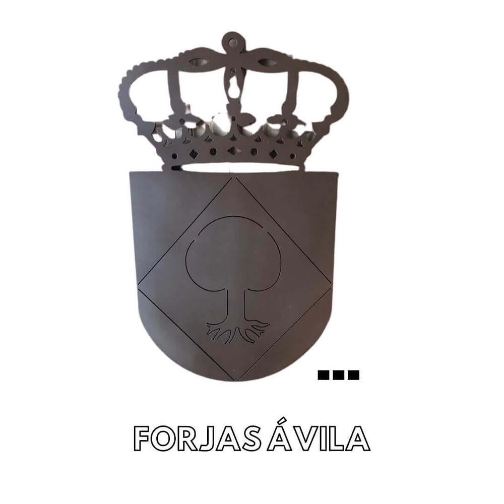 Escudos en Forja Trujillo