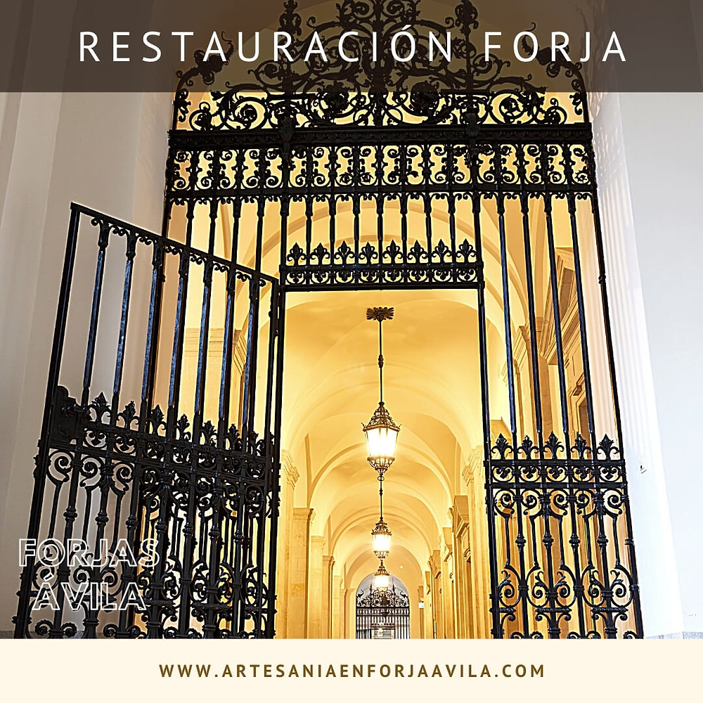 Restauración Reja de Forja en Trujillo