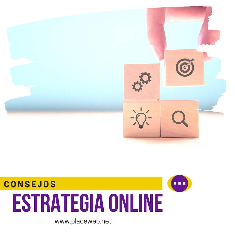 diseña tu estrategia online