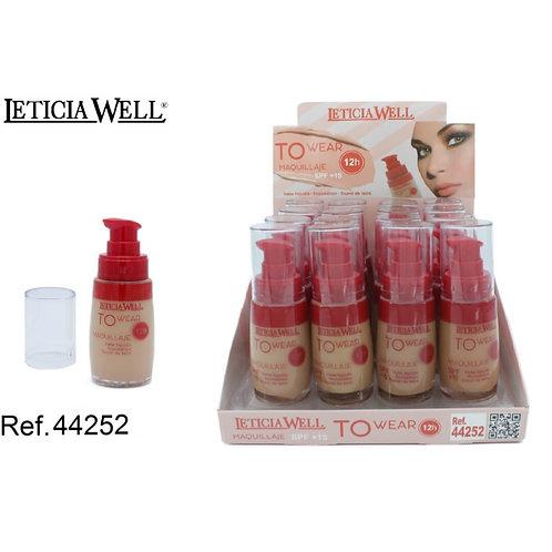 Maquillaje Fluido SPF15 12h 30ml Ref:44252