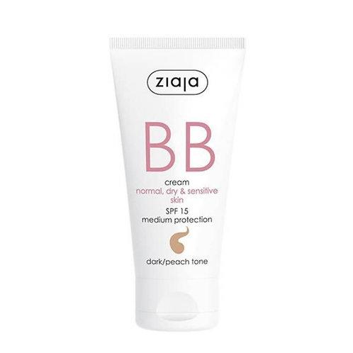 BB Cream pieles normales,secas y sensibles SPF15 Tono Oscuro 50ml