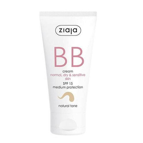 BB Cream pieles normales,secas y sensibles SPF15 Tono Natural 50ml