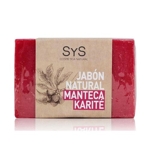 Jabón Natural Manteca de Karité 100gr