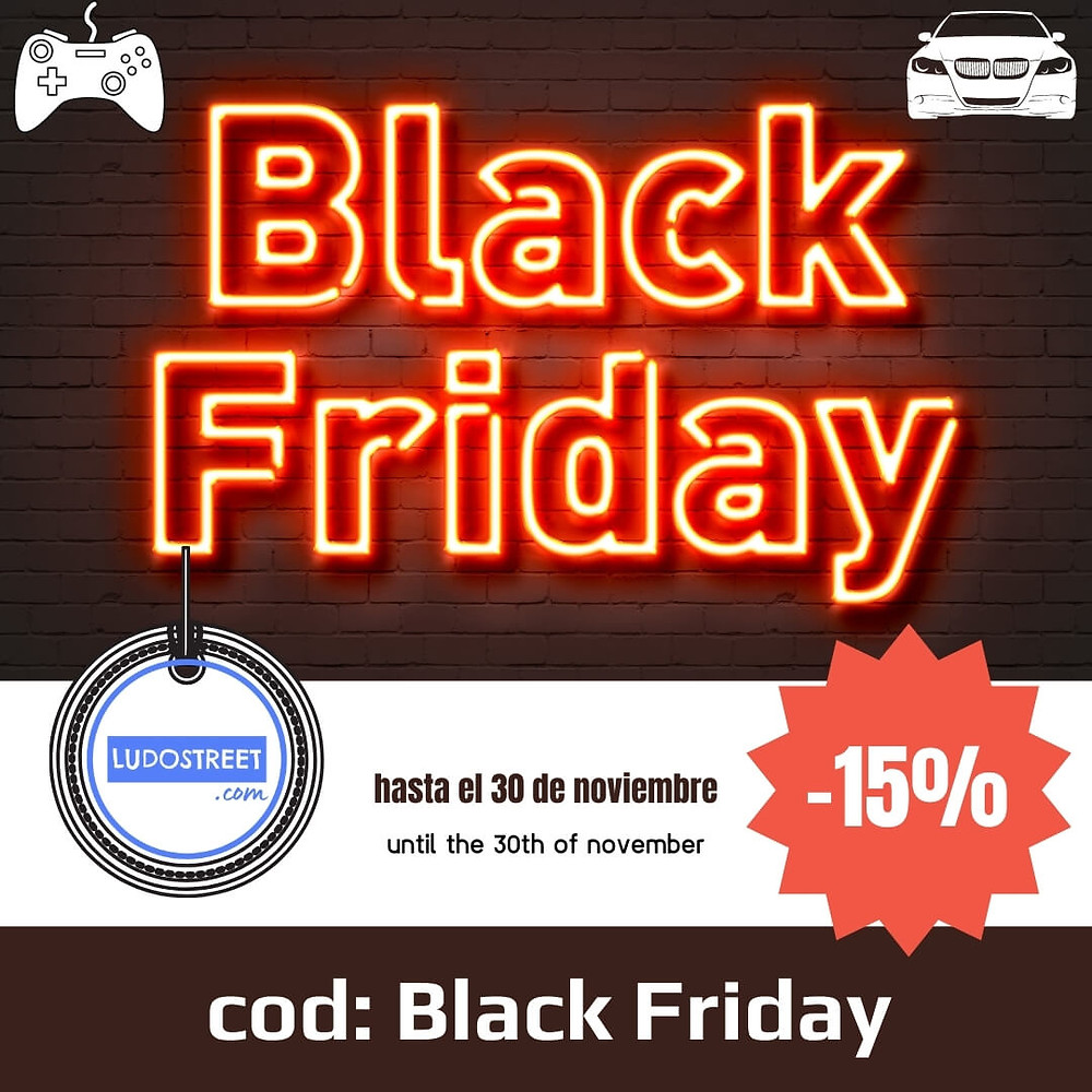 BLACK FRIDAY EN LUDOSTREET