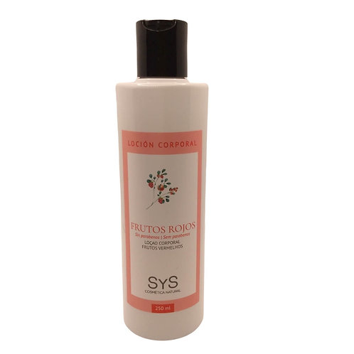 Body Milk Frutos Rojos 250ml