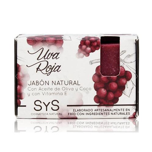 Jabón Natural Uva Roja 100gr
