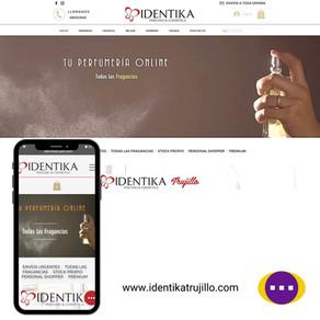Diseño Web: Identika Trujillo