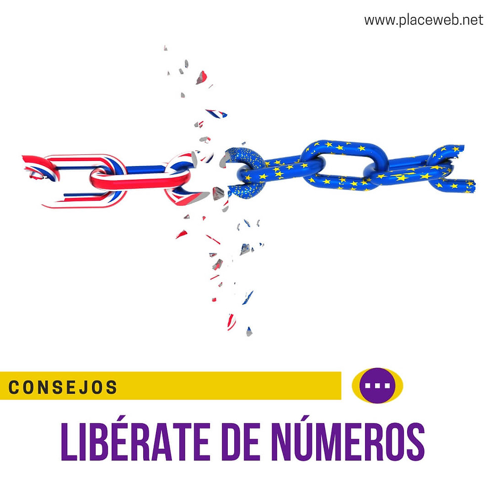 LIBÉRATE DE LOS NÚMEROS