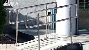 Fábrica e instalación de rampas metálicas