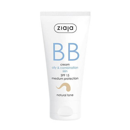 BB Cream pieles grasas y mixtas SPF15 Tono Natural 50ml