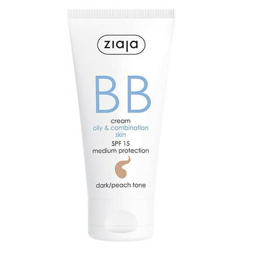 BB Cream pieles grasas y mixtas SPF15 Tono Oscuro 50ml