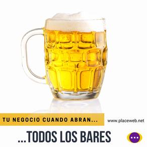 ¿Qué va a ser de tu negocio cuando abran los bares? 😮