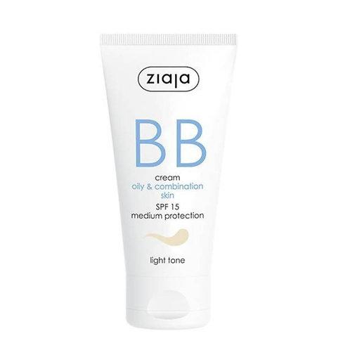 BB Cream pieles grasas y mixtas SPF15 Tono Claro 50ml